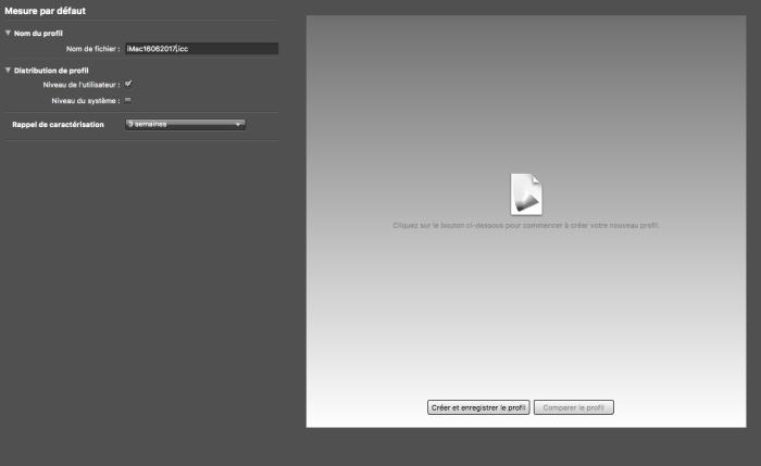 Bonnes pratiques pour caractériser votre écran-nommez votre profil