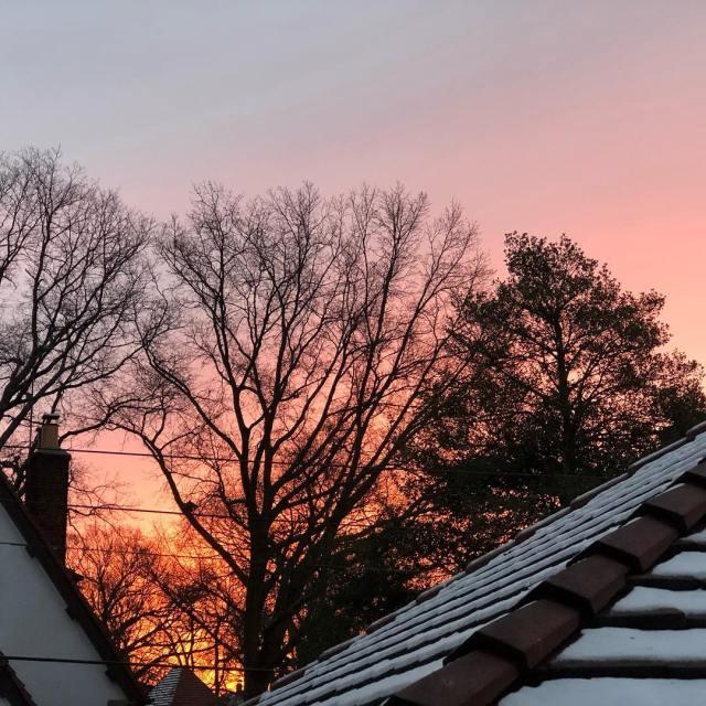 NYC winter dawn