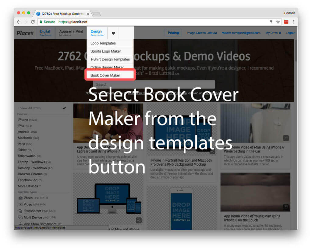 the easiest ebook cover
