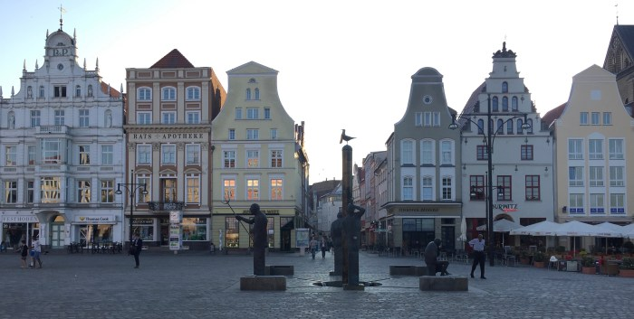 Rostock (Germany): New Market