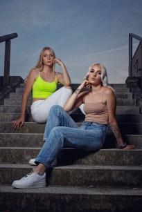 Modelle: Amanda und Samantha Foto: Ich