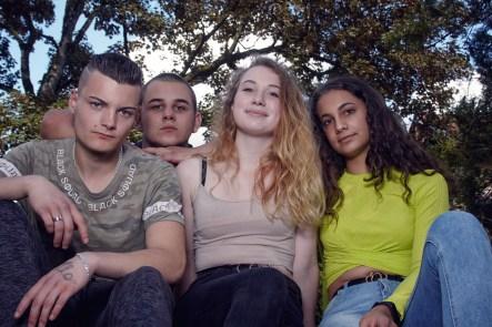 Modelle: Tabea, Isabel, Robin Foto: Ich