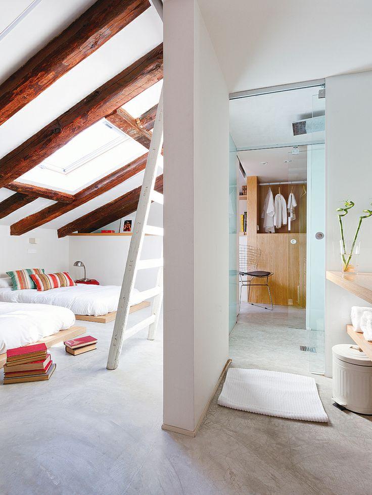 Une salle de bains ouverte sur la chambre je dis oui