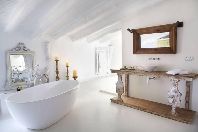 Comment amnager une salle de bain sous les combles