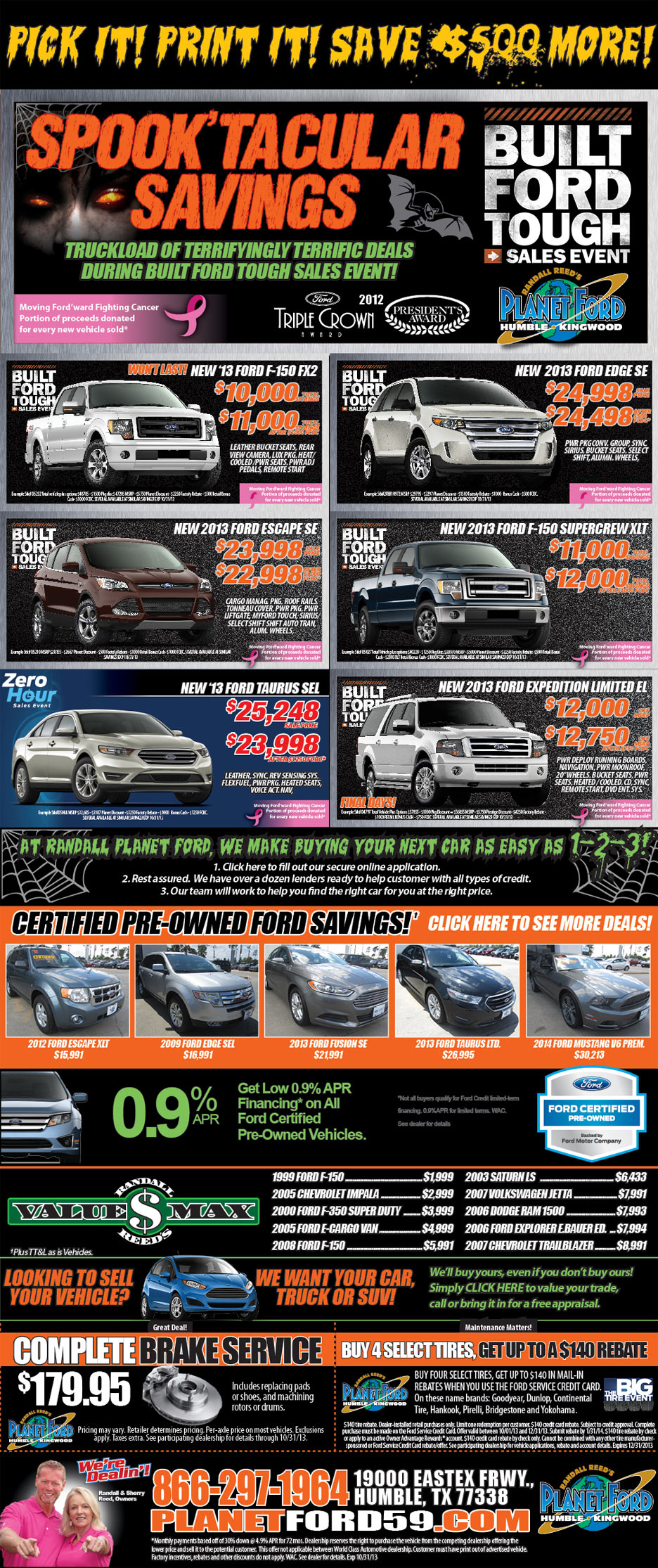 Planet Ford Humble Tx >> Planet Ford Is Celebrating The Holidays With Scary