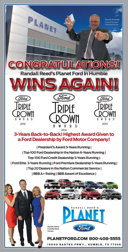 Planet Ford Humble Tx >> Planet Ford Wins Multiple Back To Back Awards Planet Ford