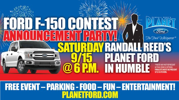 Planet Ford Humble >> You Re Invited Come Celebrate At Planet Ford In