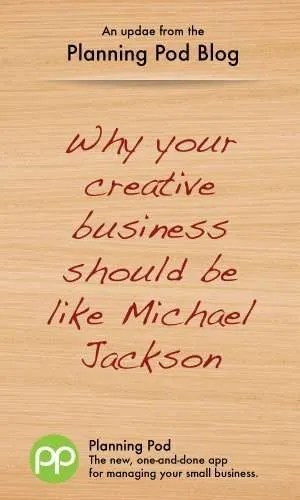Creative Services Businesses embrace change like Michael Jackson