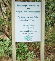 New Garden Sign