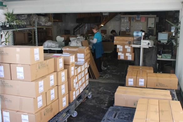Shipping garage 03.2.2015