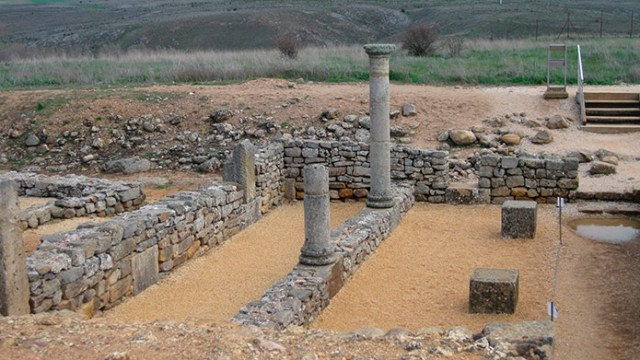 Casa de las columnas Soria