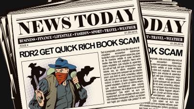 rdr2 get rich quick book