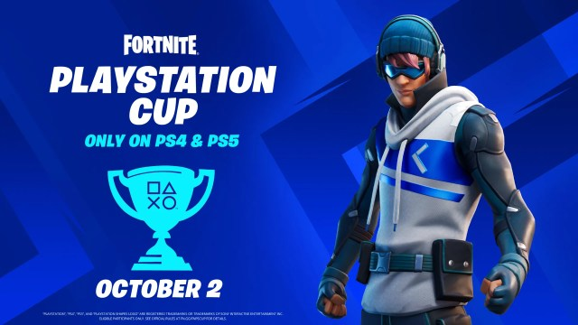 Compete in the Fortnite PlayStation Cup for a piece of the $110,000 global prize pool 2