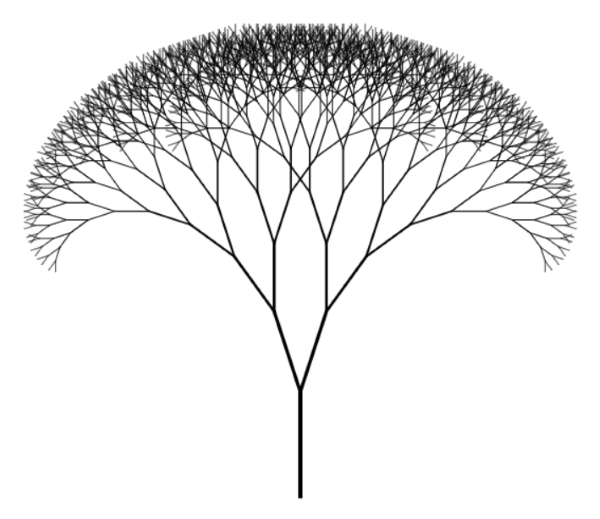 Fractal Trees With PureScript