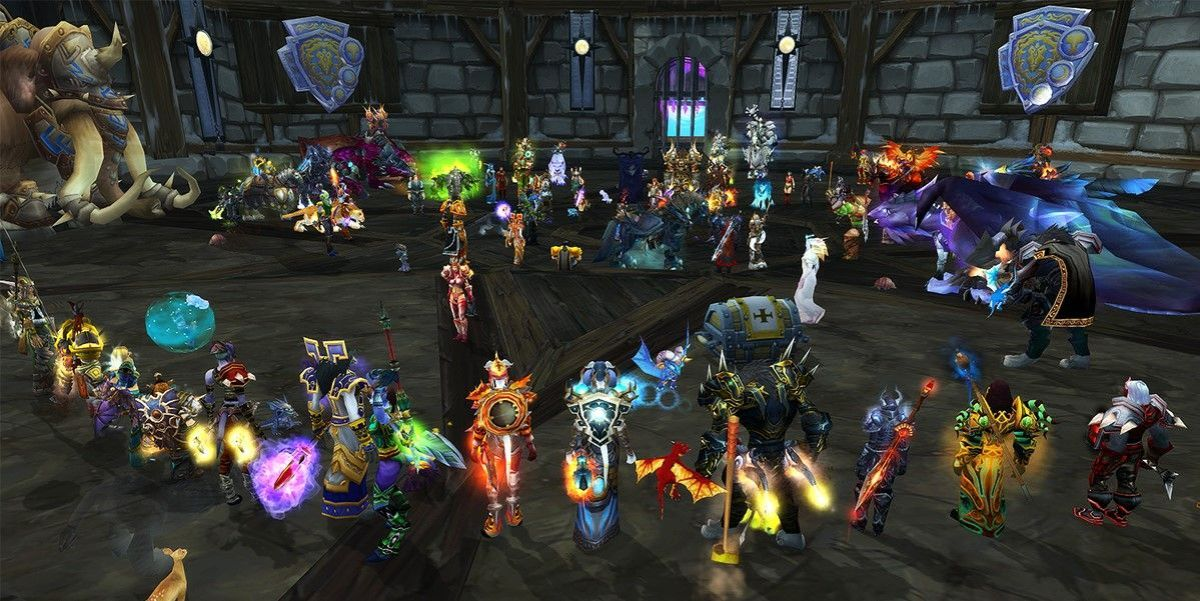 Réunion de joueurs dans le MMORPG World of Warcraft - © Tech Reviewer