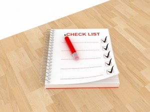 Checklist Project Management