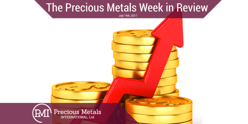 The Precious Metals Week in Review - July 14th, 2017.