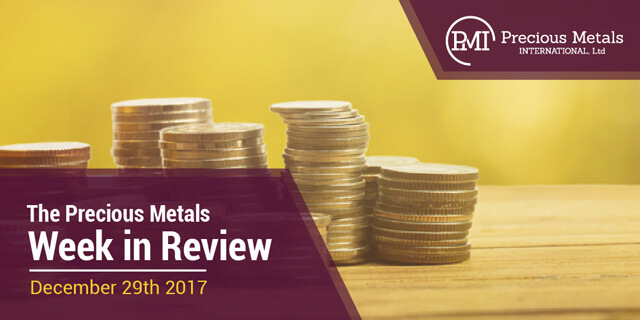 The Precious Metals Week in Review - December 29, 2017