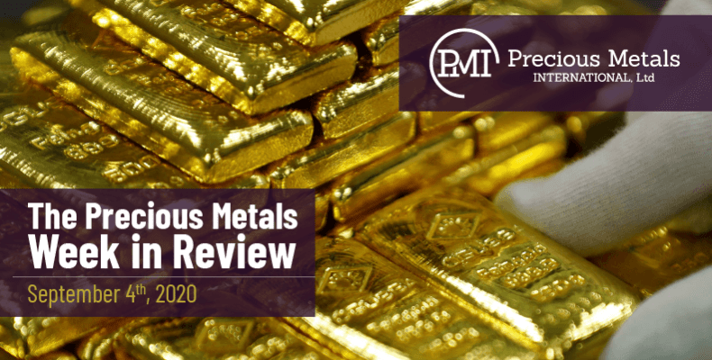 The Precious Metals Week in Review - September 4th, 2020.
