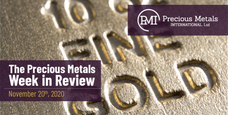 The Precious Metals Week in Review - November 20th, 2020.