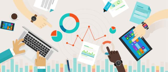 Estatísticas de gerenciamento de projeto