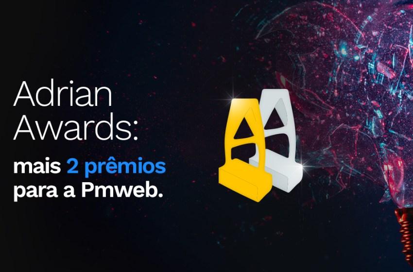 Adrian Awards: mais dois prêmios para a Pmweb no Oscar da hotelaria