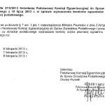 Termin egzaminu pisemnego na doradcę podatkowego jesień 2013
