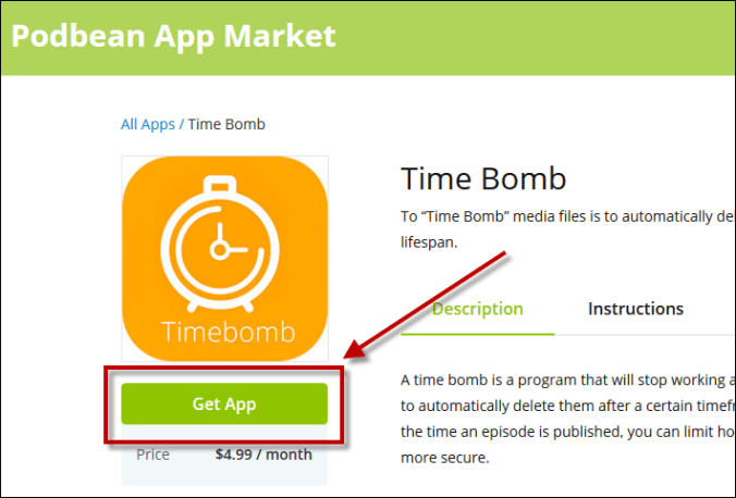 Get time bomb app