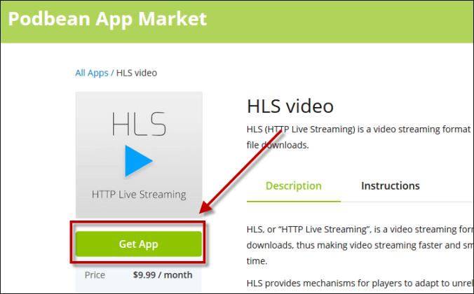 HLS Get App
