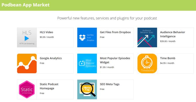 Podbean App Market