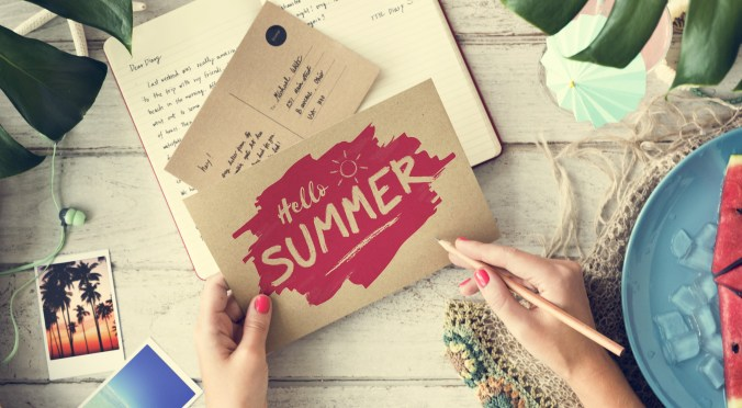 Podcasts for Summer Holiday blog