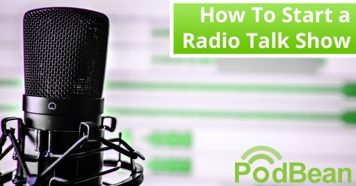 How to start a radio talk show microphone