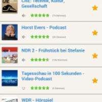 podKatcher - die kostenlose Podcast-App von podcast.de - jetzt für Android im Play-Store verfügbar!