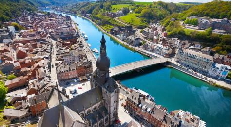 Dinant the Ardennes