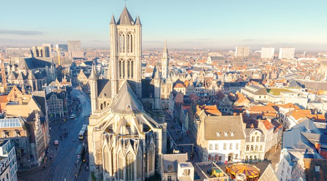 Churches in Belgium: St Bavo Cathedral in Ghent
