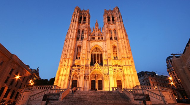Churches in Belgium: St Michael and St Gudula Cathedral, Brussels