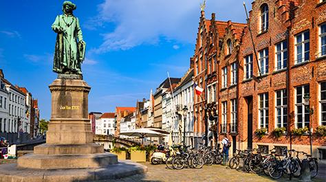 Market Square Bruges