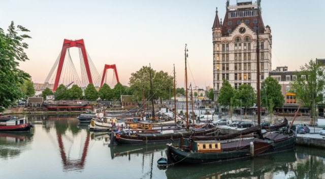 Easter Half Term Holidays in Europe: Rotterdam Harbour
