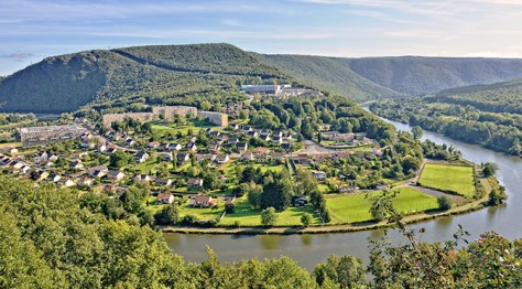 Hiking in the Ardennes region