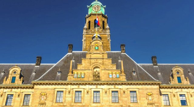 A Day in Rotterdam: Rotterdam Town Hall Netherlands