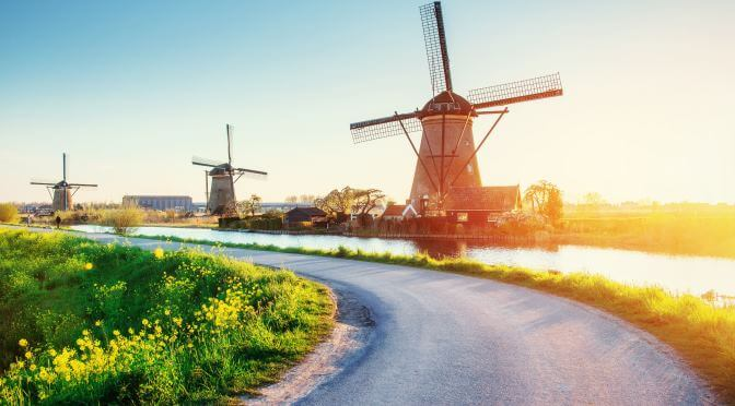Windmills Near Amsterdam to Visit During National Mill Day