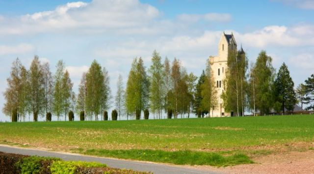 Battlefields to Visit in The Somme: Ulster Tower France Somme