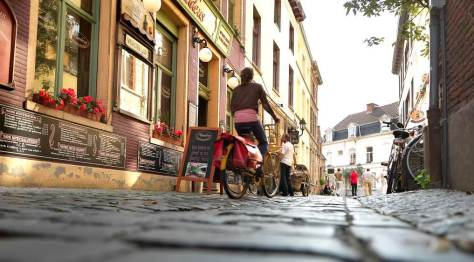 Cycling in Ghent