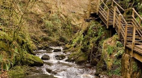 Glenevin Waterfall in Malin Head