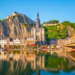 Reflections in the river of Dinant