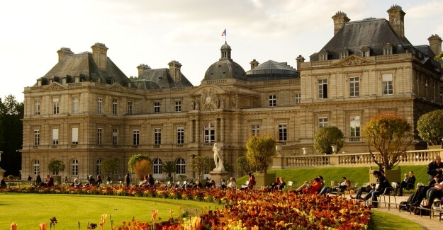 Palais du Luxembourg in Paris