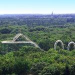 Efteling rollercoaster in the netherlands