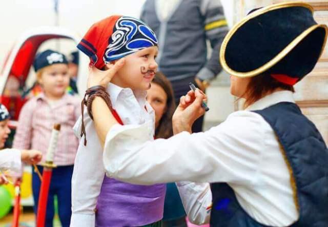 Kids on a P&O ferry: Pirate Pete
