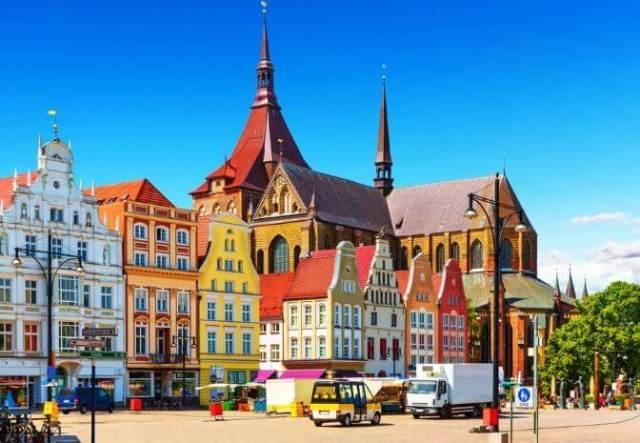 Easter weekend in Europe: Rostock in Germany