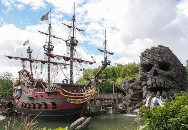 Skull Island in Disneyland Paris